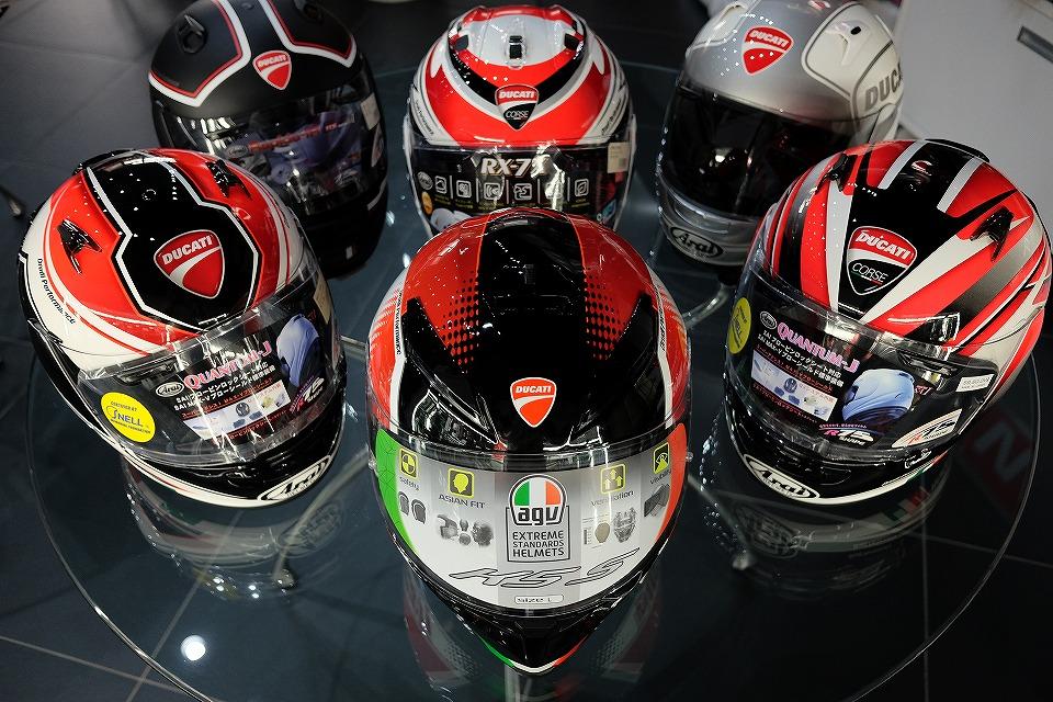 DUCATIアパレル ヘルメットのご紹介