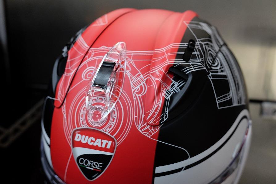 DUCATIアパレル 2020モデル  ヘルメットのご紹介