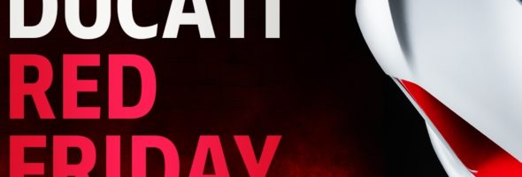 DUCATI RED FRIDAY と Scrambler