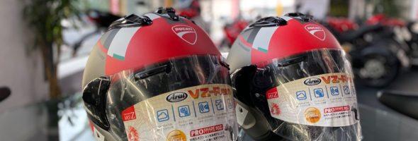 D-Attitudeジェットヘルメットです!